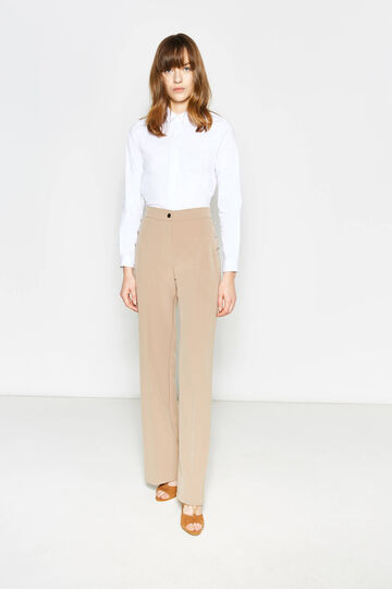 Elegant trousers with high waist band