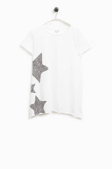 Smart Basic cotton T-shirt with print