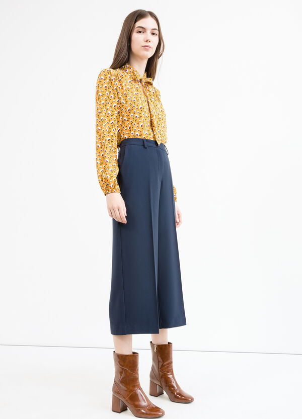 Gaucho trousers with crease | OVS
