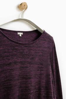 Smart Basic long-sleeved dress, Royal Purple, hi-res