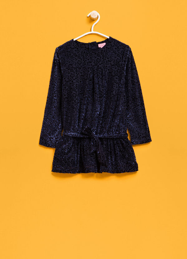 Shirt with chenille pattern | OVS