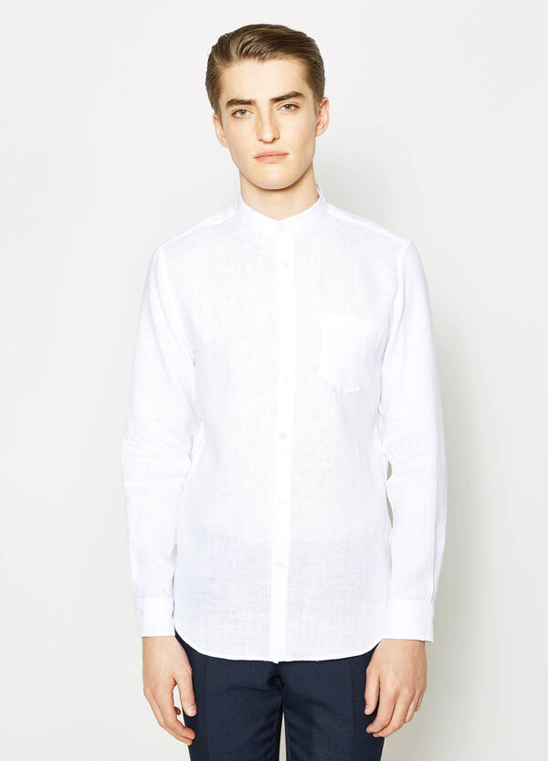 Casual shirt with mandarin collar | OVS