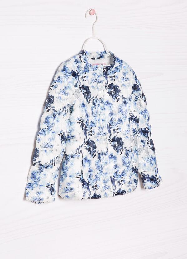 Patterned light down jacket | OVS