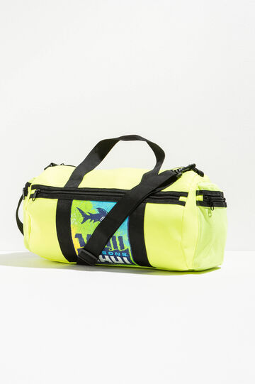 Printed bag by Maui and Sons, Neon Yellow, hi-res