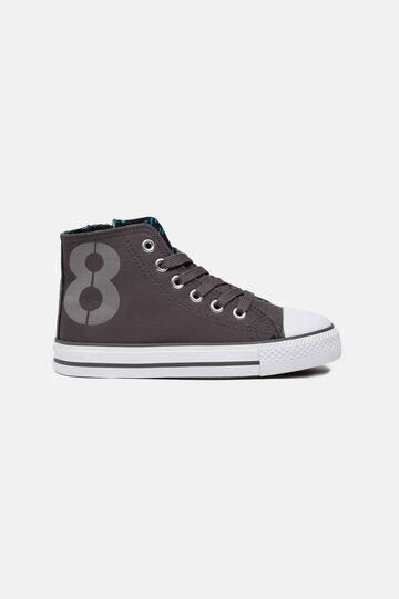 Sneakers alte, Grigio, hi-res