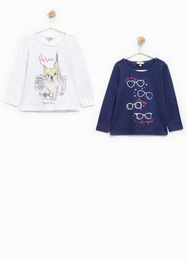 Pack de dos camisetas de manga larga | OVS