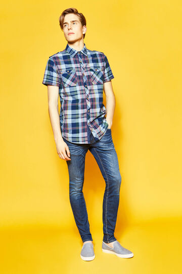 G&H casual tartan shirt in cotton