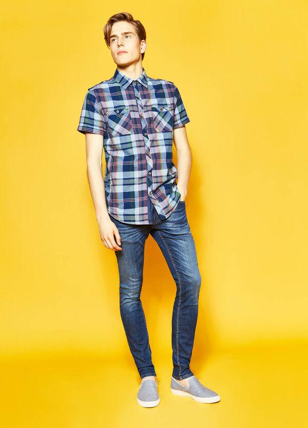 Camicia casual cotone tartan G&H | OVS