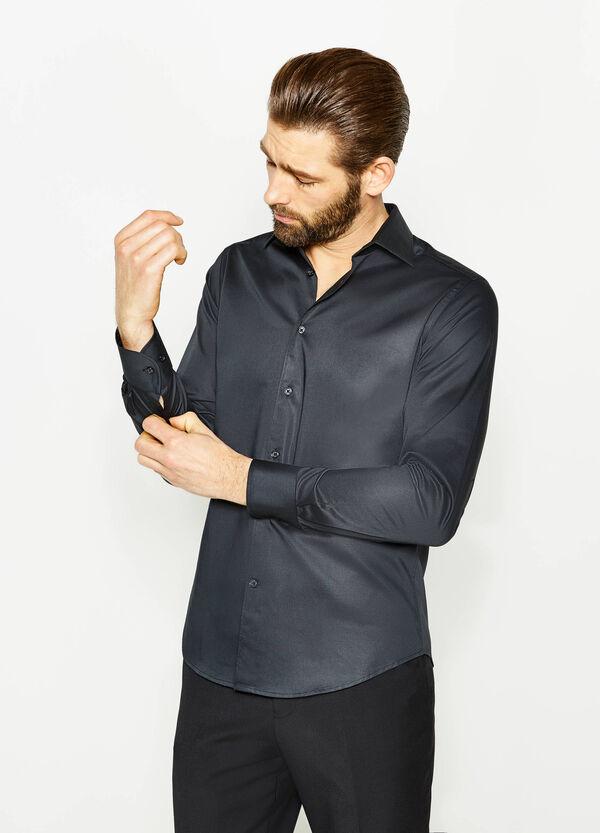 Camicia formale slim fit in puro cotone   OVS