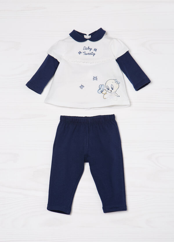 100% cotton outfit with Tweetie Pie print | OVS
