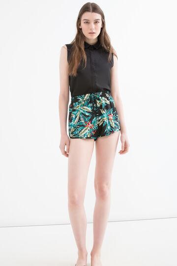 Shorts pura viscosa fantasia