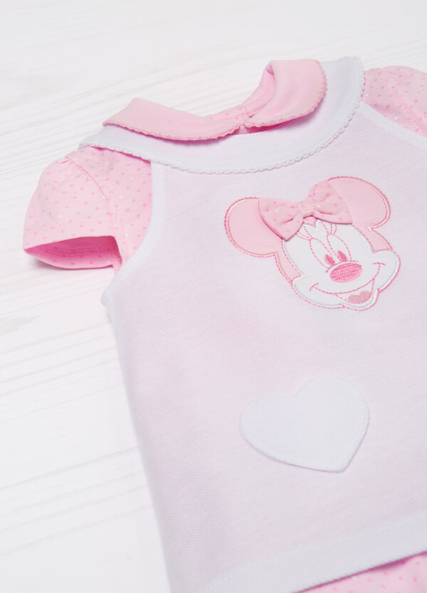 Cotton bodysuit and top set | OVS