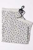 Curvy cotton pyjama trousers, Grey Marl, hi-res