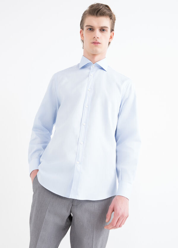 Regular-fit shirt with adjustable cuffs | OVS