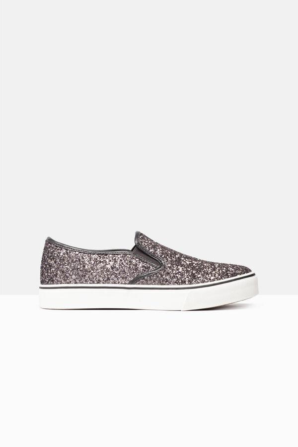 Slip-on glitter sneakers | OVS