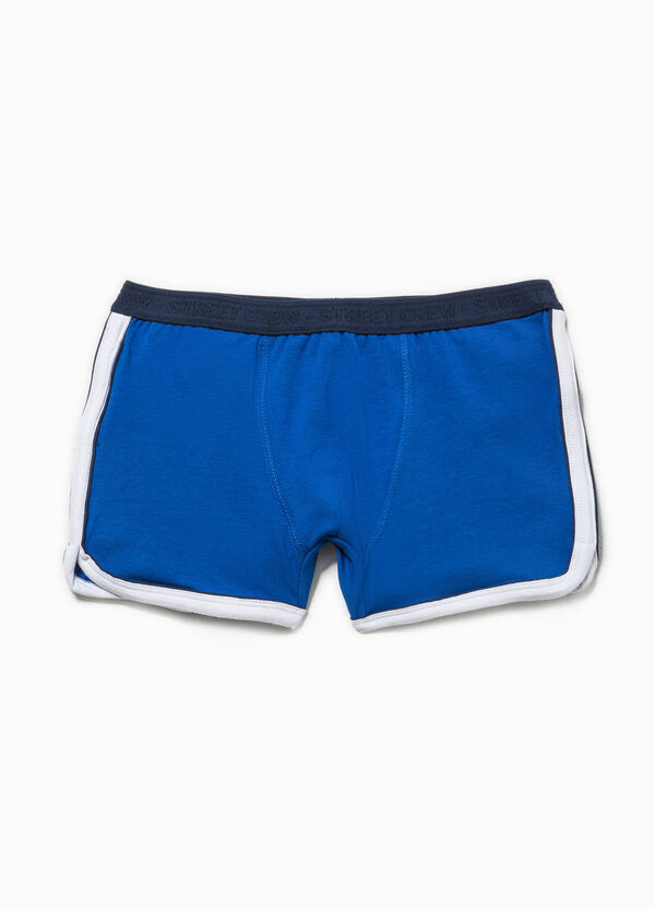 100% cotton boxers with contrasting colour trim | OVS