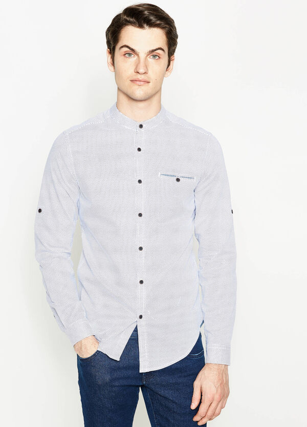 Casual shirt with all-over print | OVS