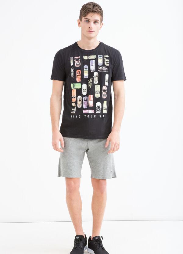 T-shirt in puro cotone maxi stampa | OVS