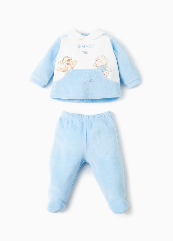Winnie the Pooh trousers with feet and T-shirt | OVS