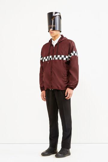 Rain jacket, Jean Paul Gaultier for OVS, Claret Red, hi-res
