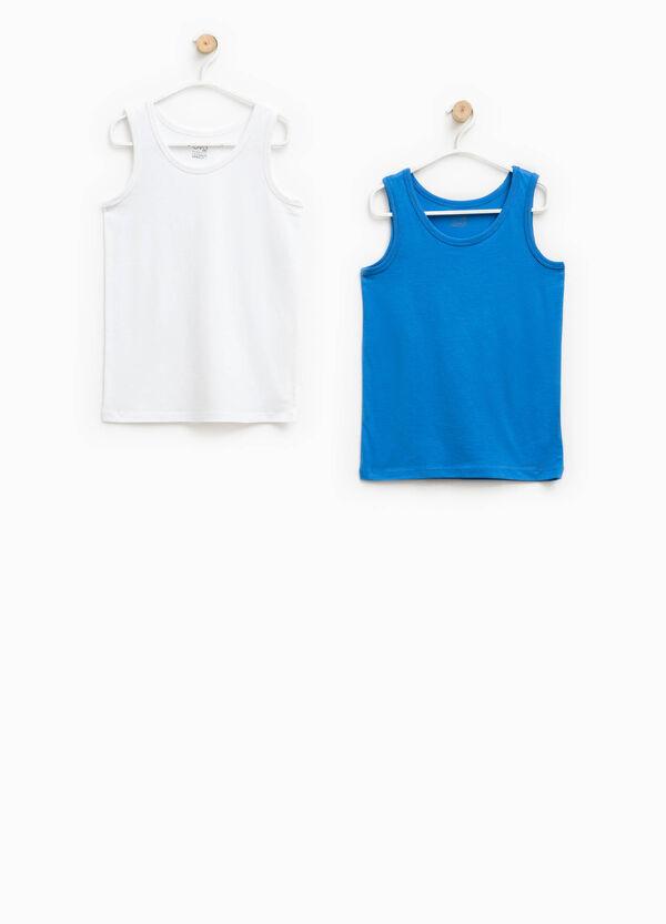 Set of two 100% Biocotton under vests | OVS