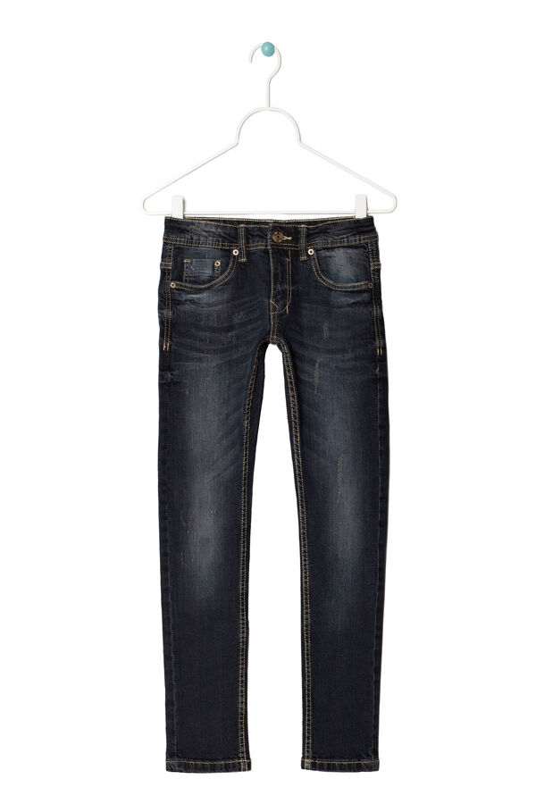 Slim fit worn jeans | OVS