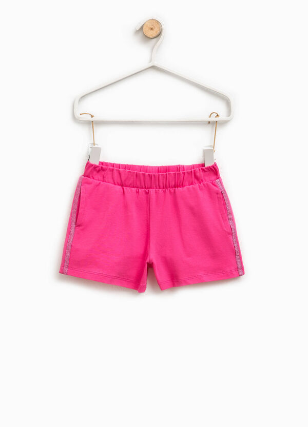 Shorts in cotone stretch | OVS