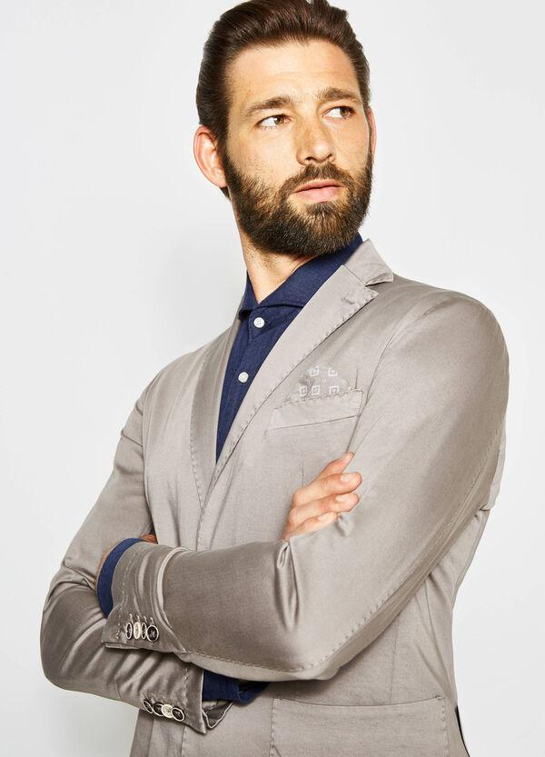 Satin Rumford jacket with pocket handkerchief | OVS