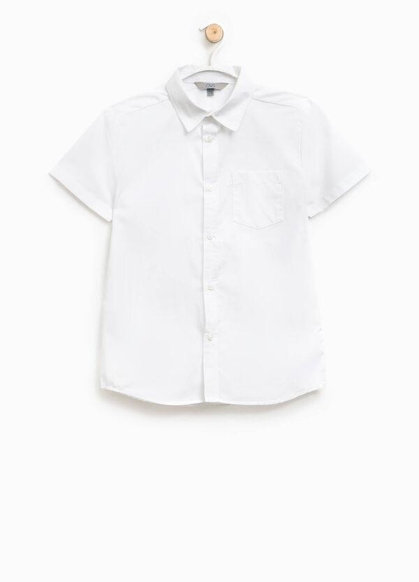 Camicia maniche corte con taschino | OVS