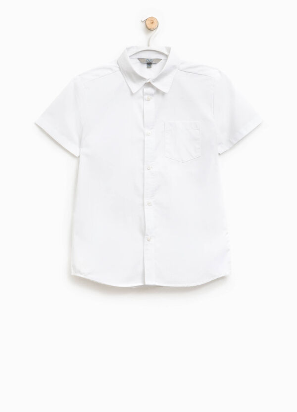 Short-sleeved shirt with pocket | OVS