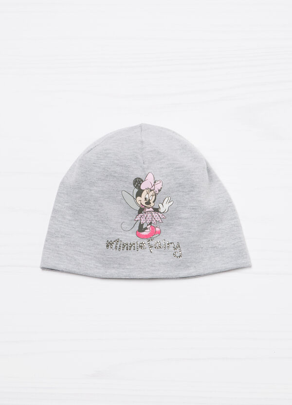 Minnie Mouse cotton beanie cap | OVS