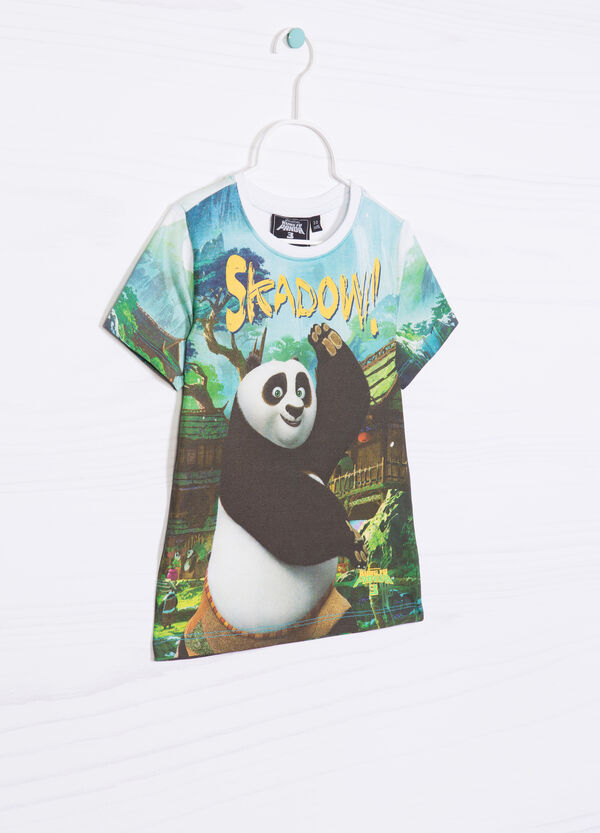 T-shirt with maxi Kung Fu Panda print | OVS
