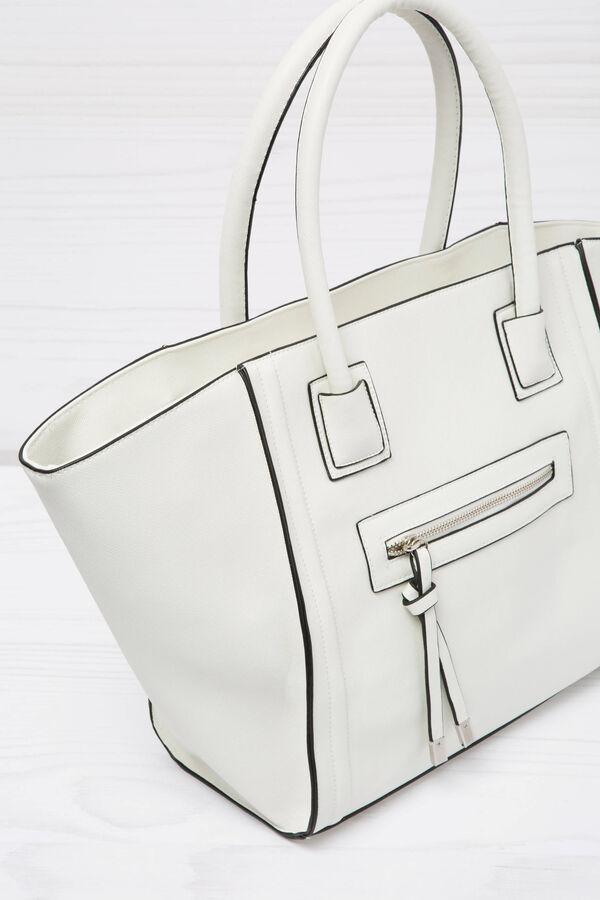 Shoulder bag with outside pocket | OVS