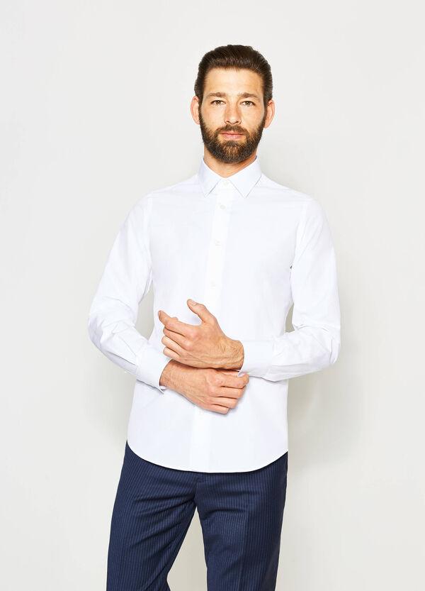 Camisa formal slim fit con cuello clásico | OVS