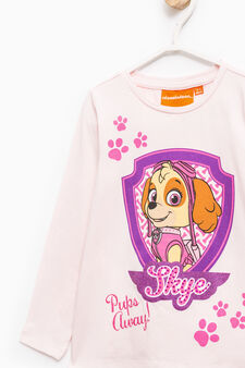 T-shirt with Paw Patrol print, Pink, hi-res