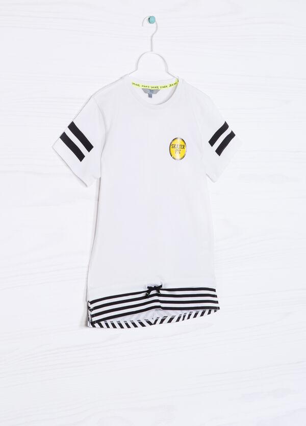 T-shirt puro cotone con coulisse | OVS