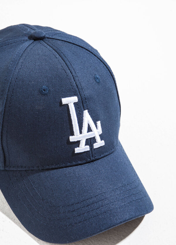 Baseball cap with lettering embroidery | OVS