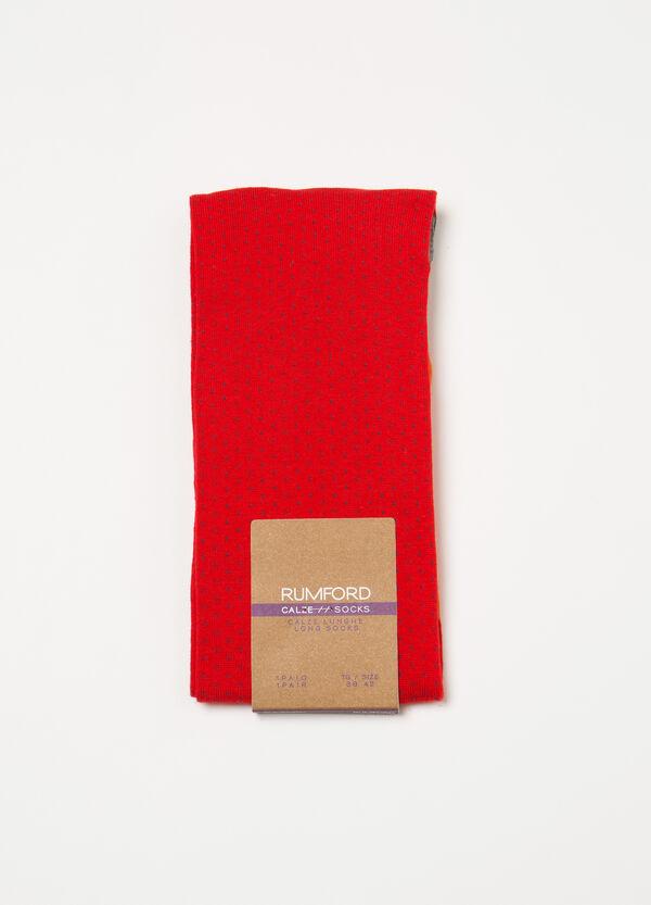Full-length socks with Rumford pattern | OVS