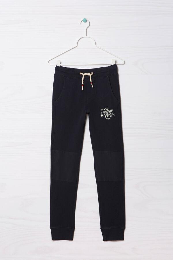Pantaloni tuta puro cotone stampati | OVS