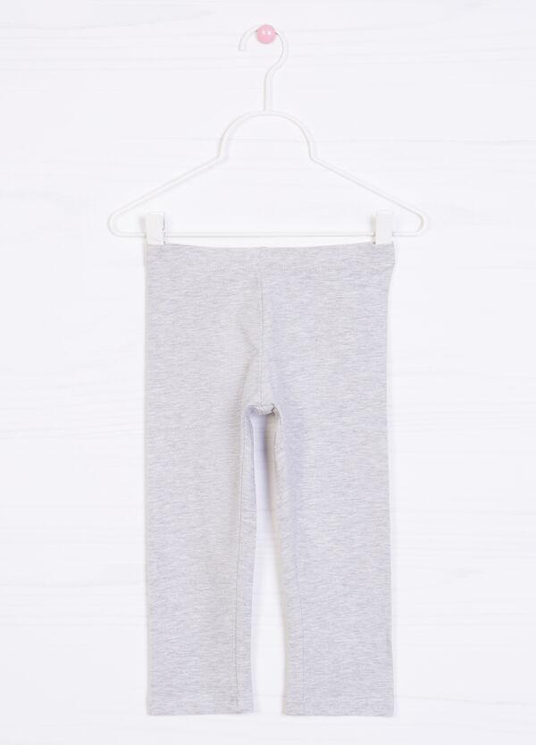 Leggings stretch tinta unita | OVS