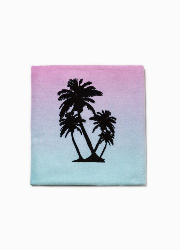 Degradé beach towel with print | OVS