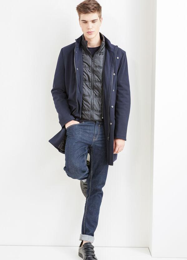 Abrigo slim fit con forro extraíble | OVS