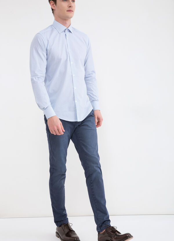 Camicia slim fit puro cotone | OVS