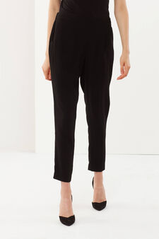 Long trousers, Black, hi-res