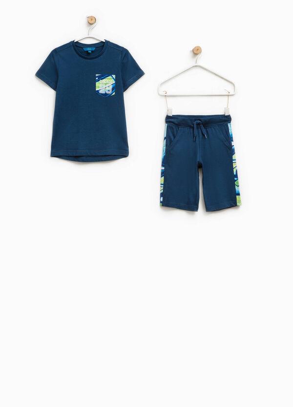 Completo  t-shirt e bermuda fantasia | OVS