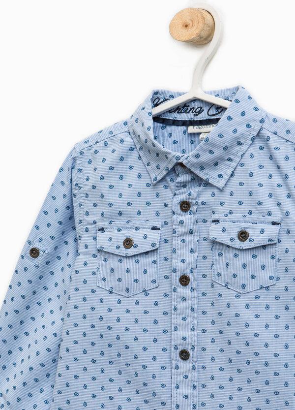 Camicia in puro cotone fantasia | OVS