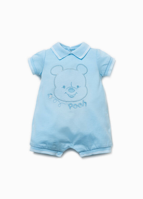Embroidered Winnie the Pooh romper suit | OVS