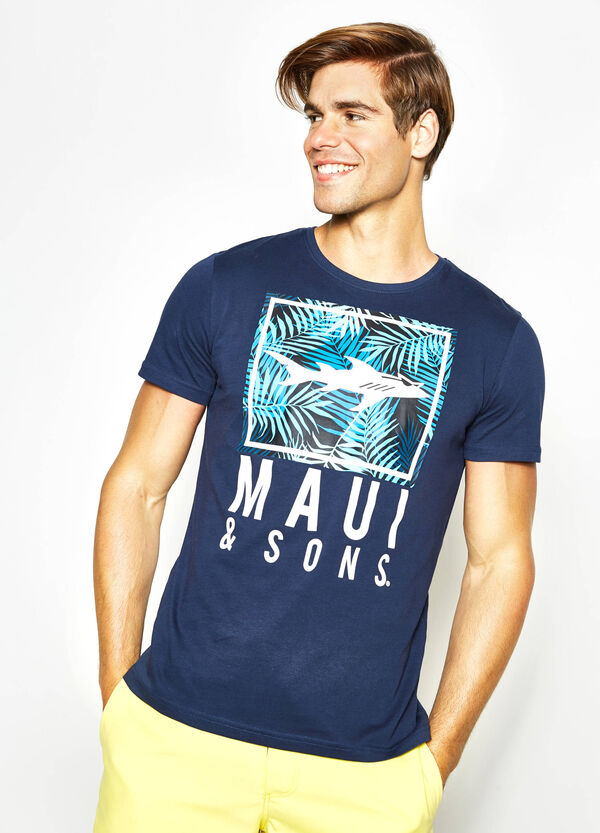 T-shirt con stampa Maui and Sons | OVS