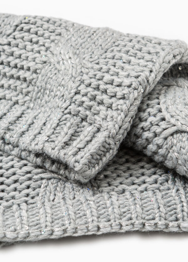 Cable knit scarf | OVS