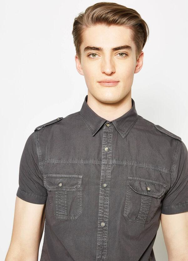 G&H cotton poplin casual shirt | OVS